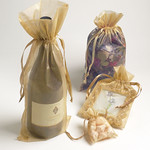 Golden Organza Bags