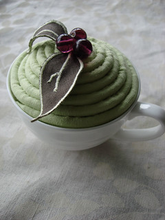 Diane's Teacup Pincushion | by the beauty is in the detail . . .