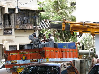 Reliance Infrastructure Ltd. maintenance work in progress