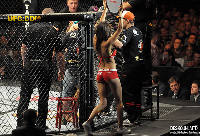 Ufc Ring Girl Xyience Commercial