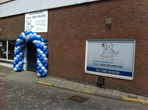 Ballonboog 6m Loodgietersbedrijf den Drijver Barendrecht