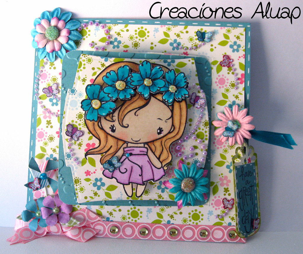 tarjeta birthday anya greeting farm fleurs