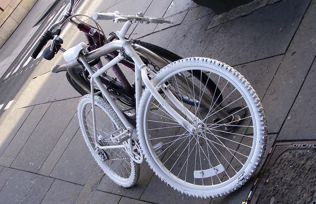 the other white bike
