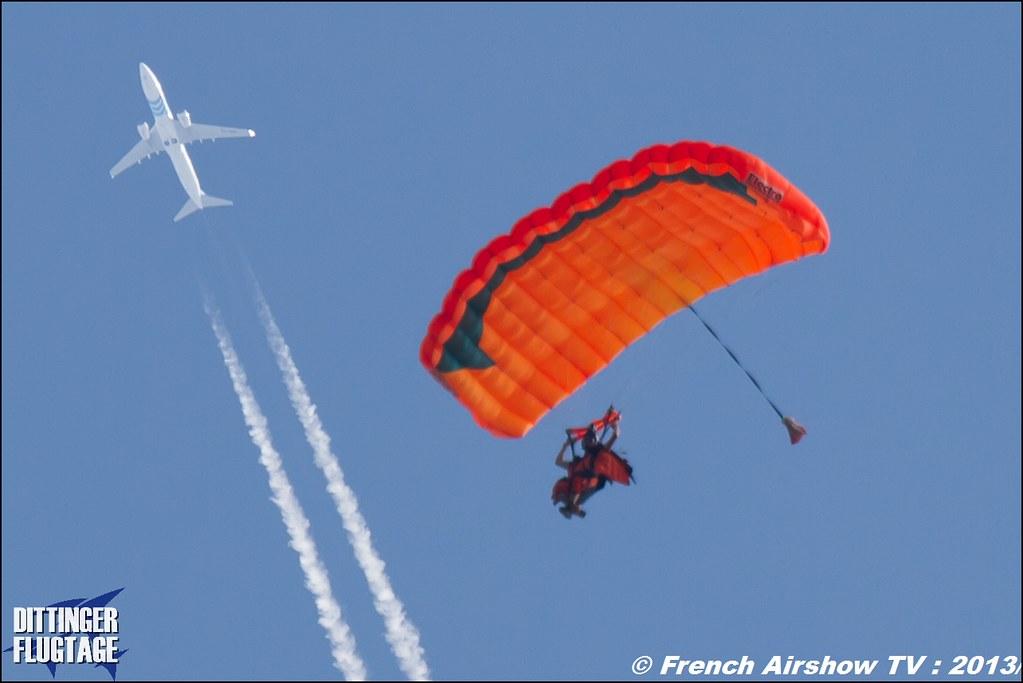 Parachutistes,Dittinger Flugtage 2013