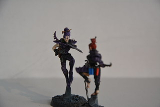 Cult of Bladed Violet & Kabal of Violet Storm - DE witches conversion! 10084301094_e6e4039068_n
