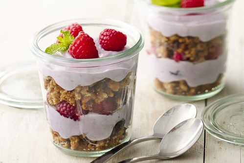 Oatmeal cookie parfaits