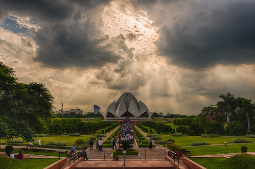 art architecture modern temple nikon worship day cloudy faith religion tolerance gods minimalist hdr newdelhi d800 1835mm baha'i thelotustemple
