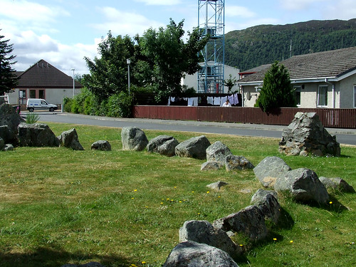 Aviemore ring cairn and stone circle