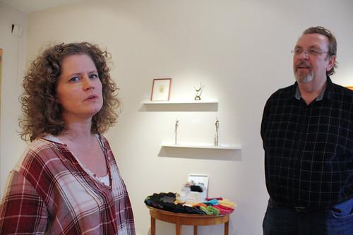 Åsa Fredrikson och Robert Zetterberg öppnar galleri.