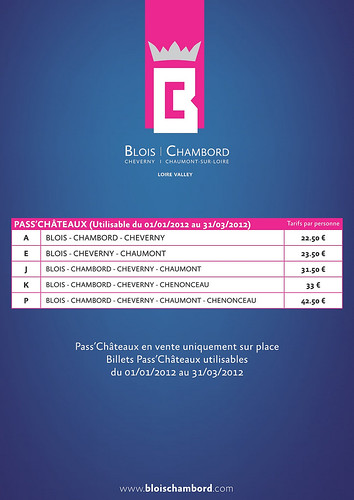 Pass Chateau 01-01-12 al 31-03-12