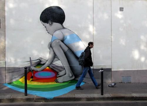 Street art Paris - Seth by _Kriebel_
