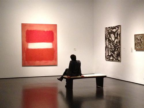 LACMA Rothko & Pollock