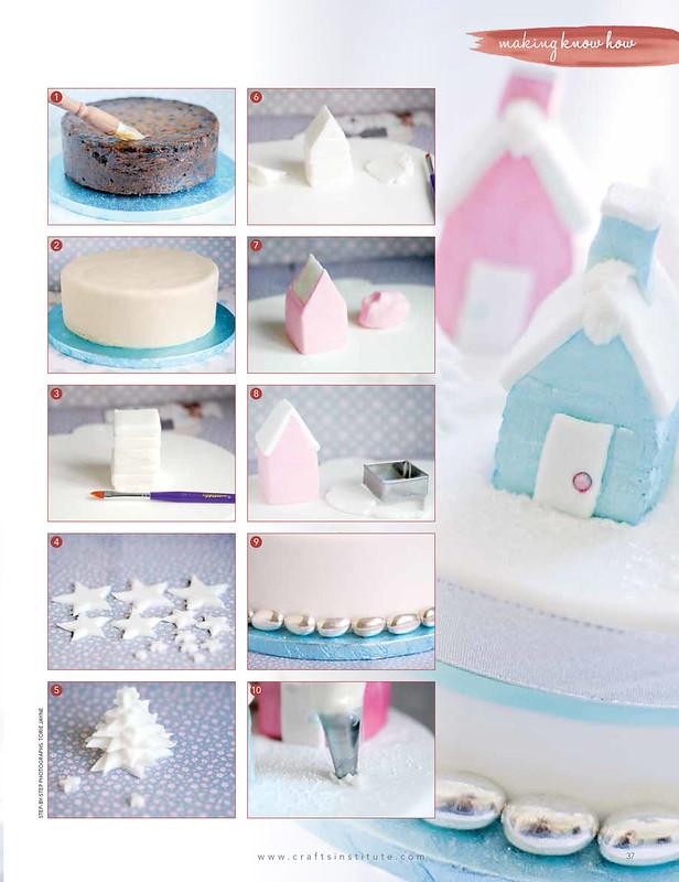 Christmas Cake @Making Magazine