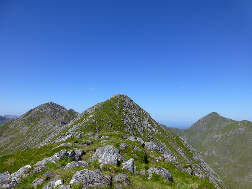 Graham on Sgurr na Ciste Duibhe  The Five sisters Of Kintail