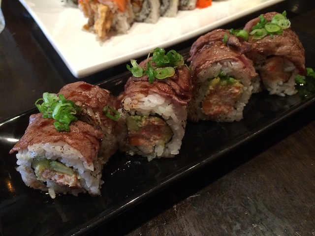 Japanese cowboy beef roll - Barracuda Sushi