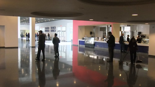 The First Floor Concession Stand And Simulcast Area
