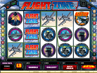 Flight Zone Slot Machine