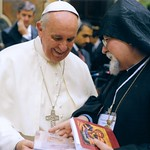 Pope Francis presented with the True Life in God Unity Book