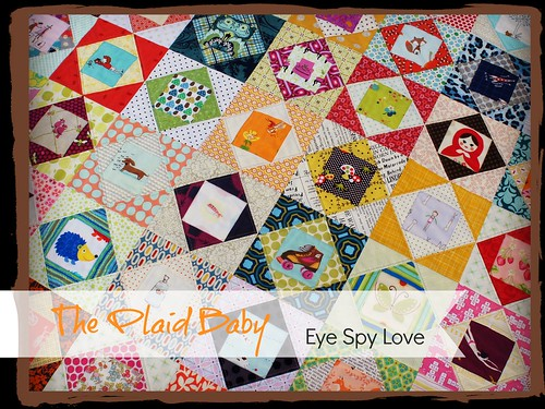 The Plaid Baby eye spy love