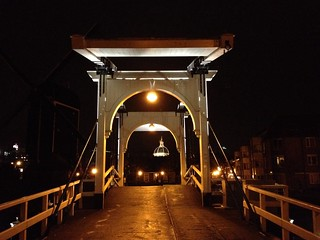 Old bridge in Leiden (Netherlands 2013)