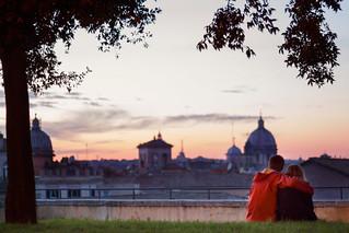 In love, in Rome
