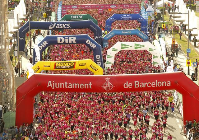 Carrera de la mujer 2013 Barcelona