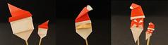 Origami - Santa's face