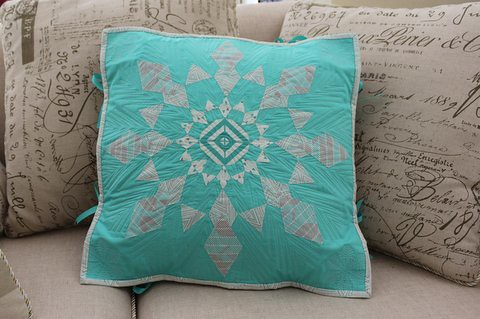 Cushion for Christmas Blog Hop