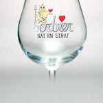 ベルギービール大好き!!【ウール・ビールの専用グラス】(管理人所有 )