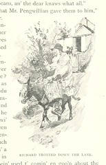 """British Library digitised image from page 55 of """"Maids in a Market Garden, etc [A novel.]"""""""