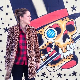 Zara leopard coat 1