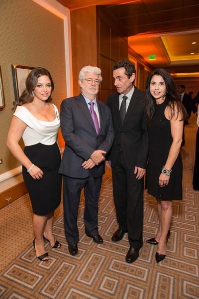 Jacqueline Sacks, George Lucas, Neal Benezra, Candace Cavanaugh