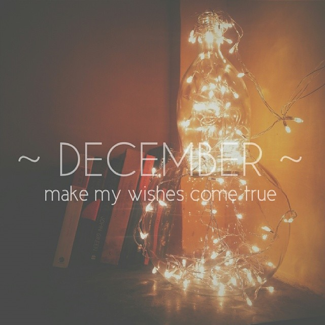 Dear December Please Make My Wishes Come True Regards Dreamer