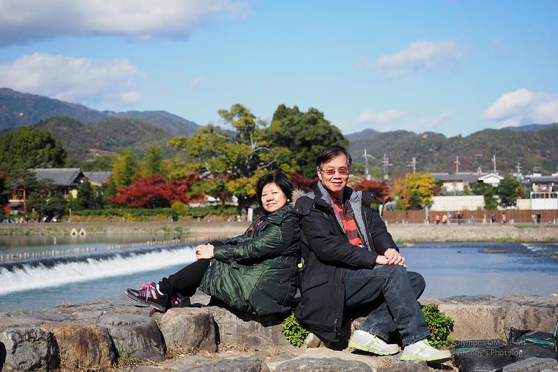 嵐山大街、渡月橋 | 京都嵐山
