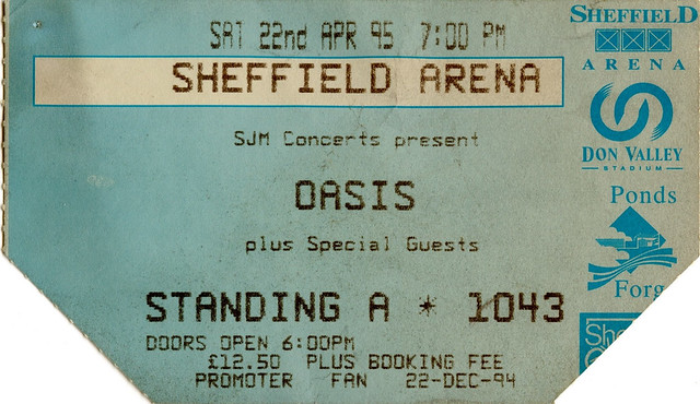 Oasis, Sheffield Arena