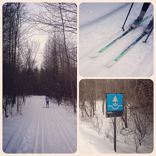 A great ski trail for kids in Ottawa