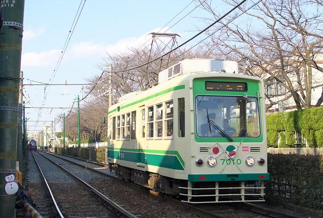 Tokyo Train Story 都電荒川線 2014年1月1日
