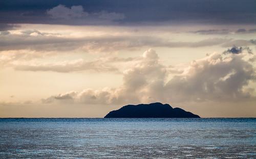 ocean sunset sea naturaleza nature water clouds canon island agua day view cloudy puertorico bluesky explore nubes 7d vista pr caribbean isla horizonte aguada rincón desecheo monapassage
