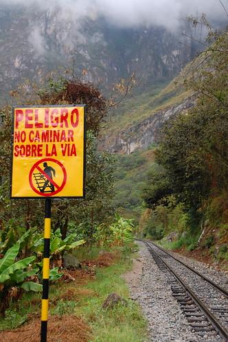 Hiking to Machu Picchu, Peru