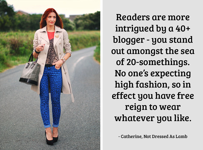 Catherine, Not Dressed As Lamb on being a 40+ blogger