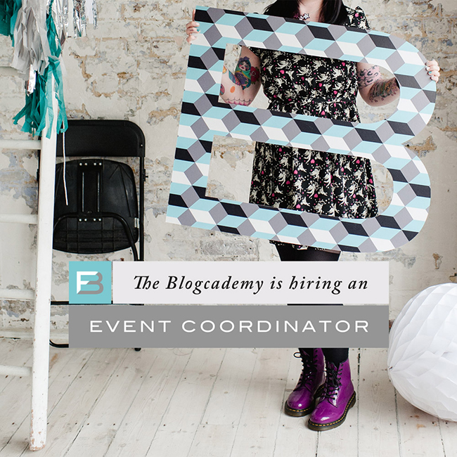 We're Looking For An Event Coordinator!