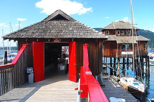 Cowichan Bay Maritime Centre, Cowichan Bay, Cowichan Valley, Vancouver Island, British Columbia