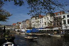 De Nieuwe Rijn in Leiden