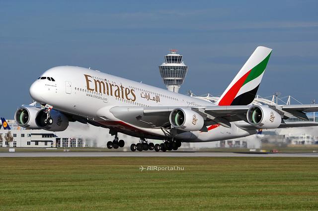 Madrid és Düsseldorf: újabb Emirates A380-as célállomások