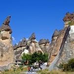 Fairy chimneys of Goreme valley by maios