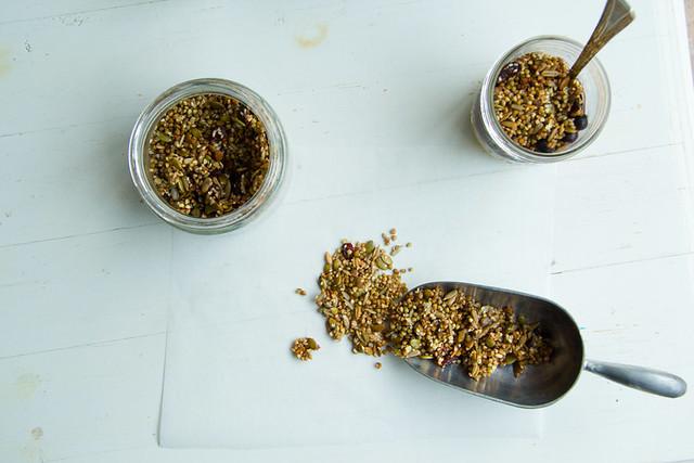 buckwheat granola feast