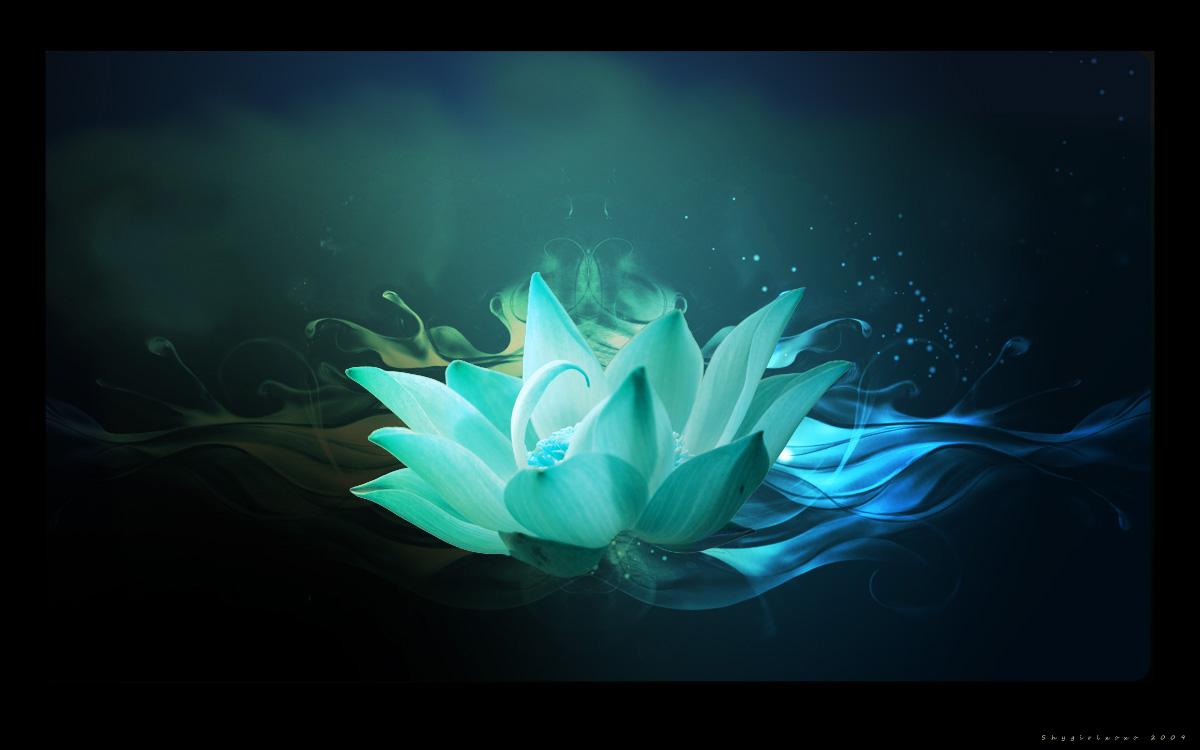Simple Lotus Flower Coloring Page