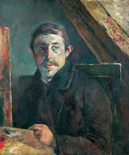 gauguin kimbellartmuseum fortworthtexas selfportrait notonview 19thcentury