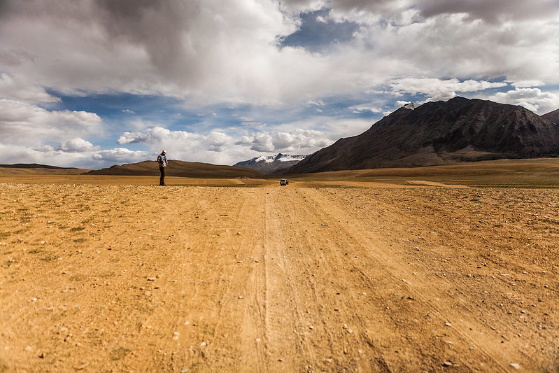 Flat land near Tso Kyogar, Ladakh, India