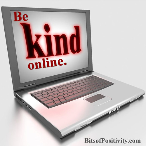 """Be Kind"" Online Word Art Freebie"